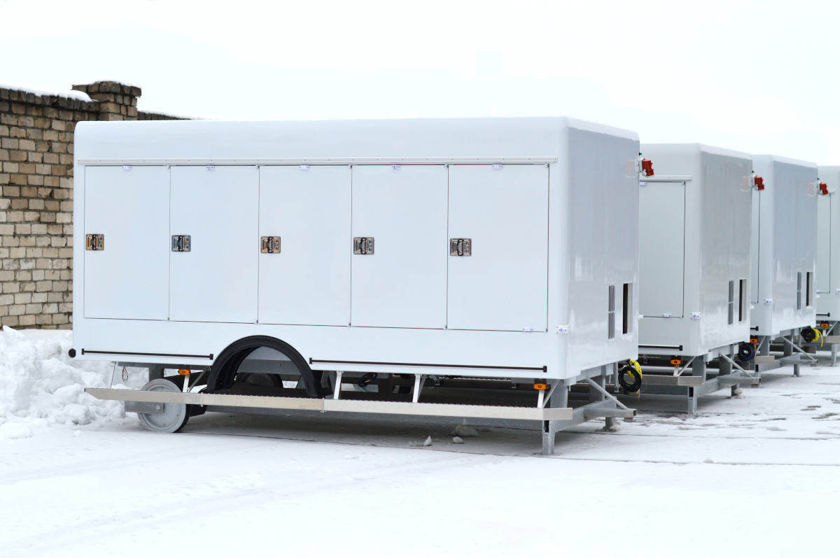 Refrigerated truck bodies