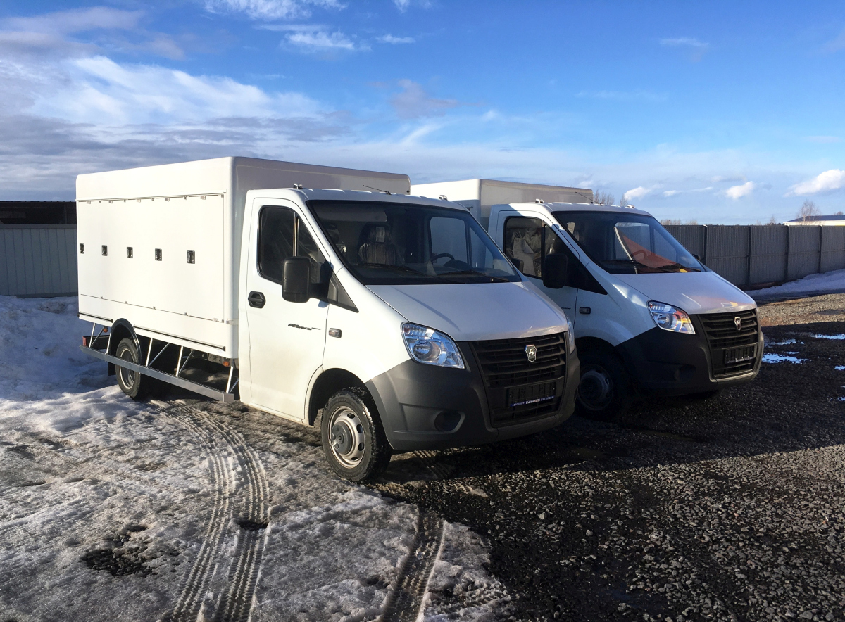 Фургоны-мороженицы на базе ГАЗель NEXT