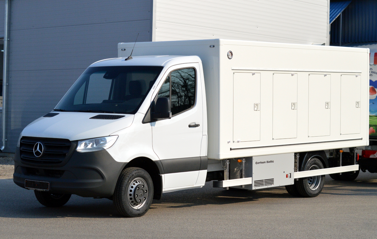 Mercedes-Benz Sprinter refrigerated truck