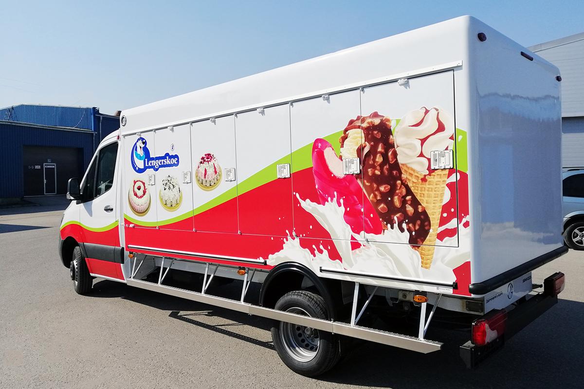 Ленгерское фургон-мороженица