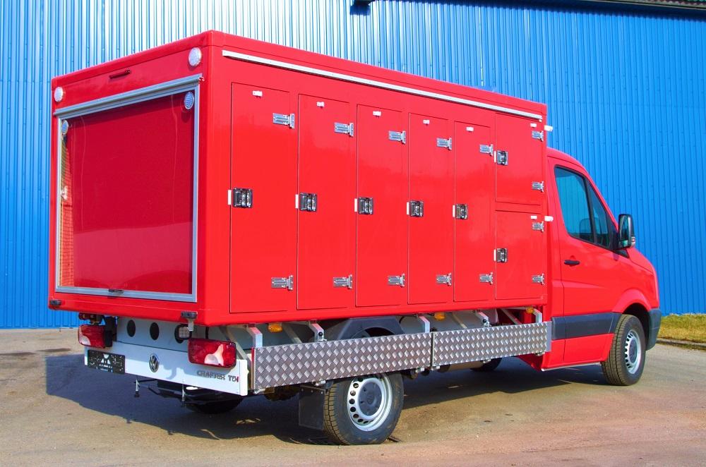 Мультитемпературный фургон на базе Volkswagen Crafter