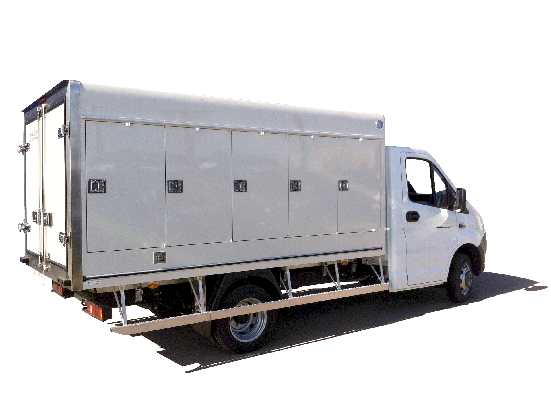Изотермический фургон на шасси ГАЗель NEXT для перевозки продуктов глубокой заморозки или мороженица