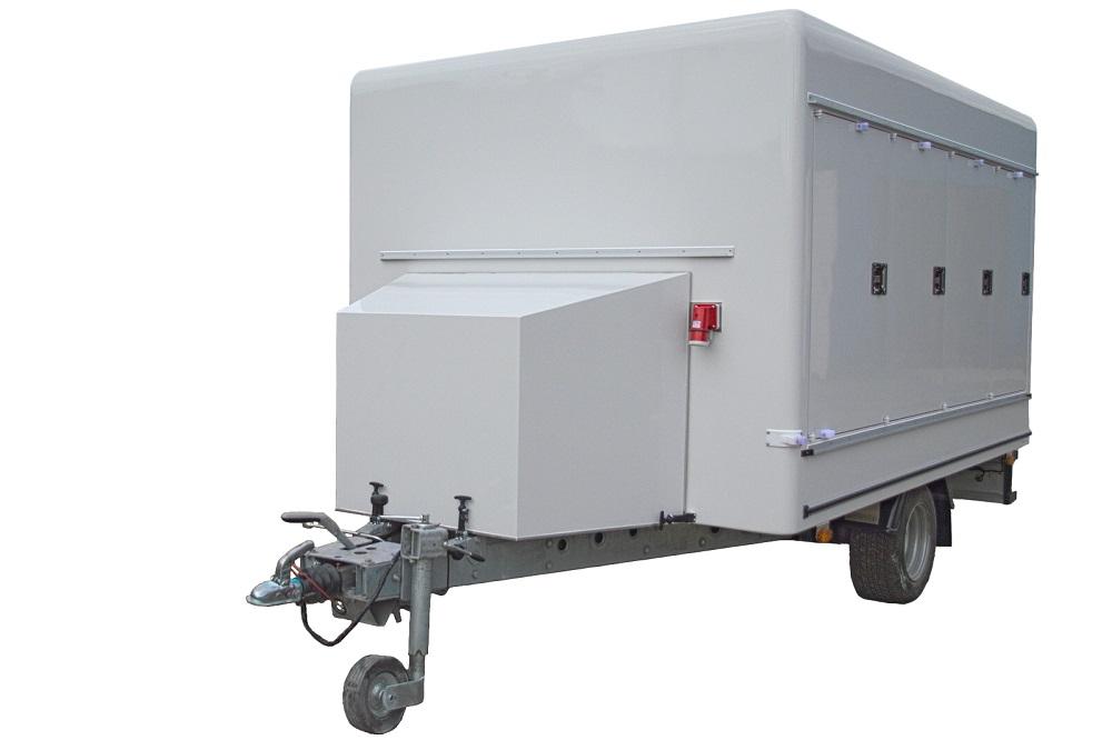 Изотермический фургон для перевозки продуктов глубокой заморозки или мороженица