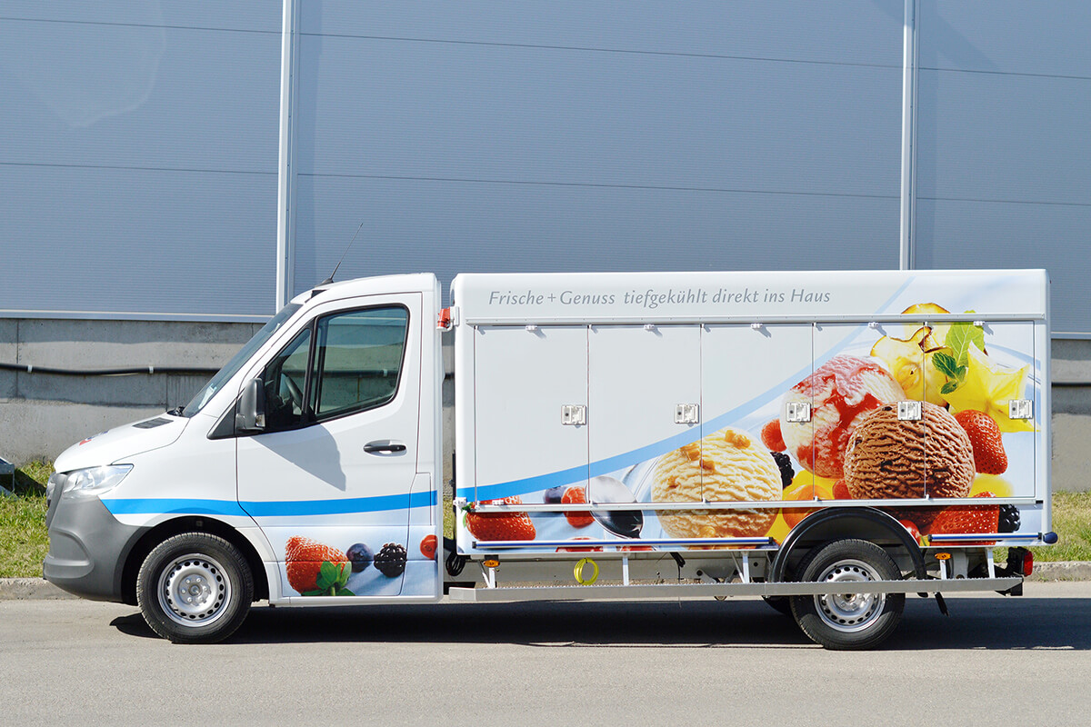 Bofrost refrigerated truck