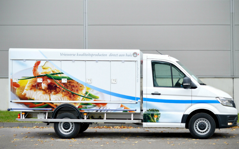 Volkswagen Crafter 2017 with eutectic cooling