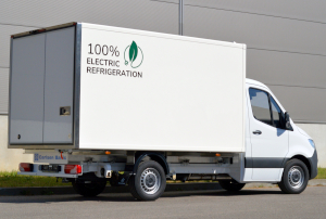 Sprinter Refrigerated Truck for Home Deliveries