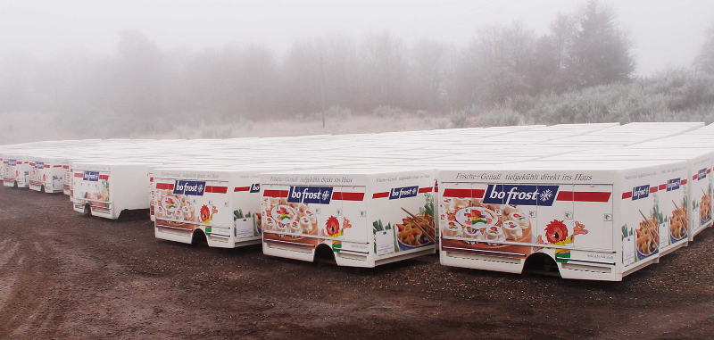 Bofrost's refrigerated truck bodies